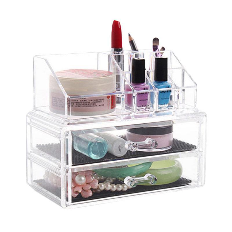 Acrylic Type F Mini Makeup Organizer