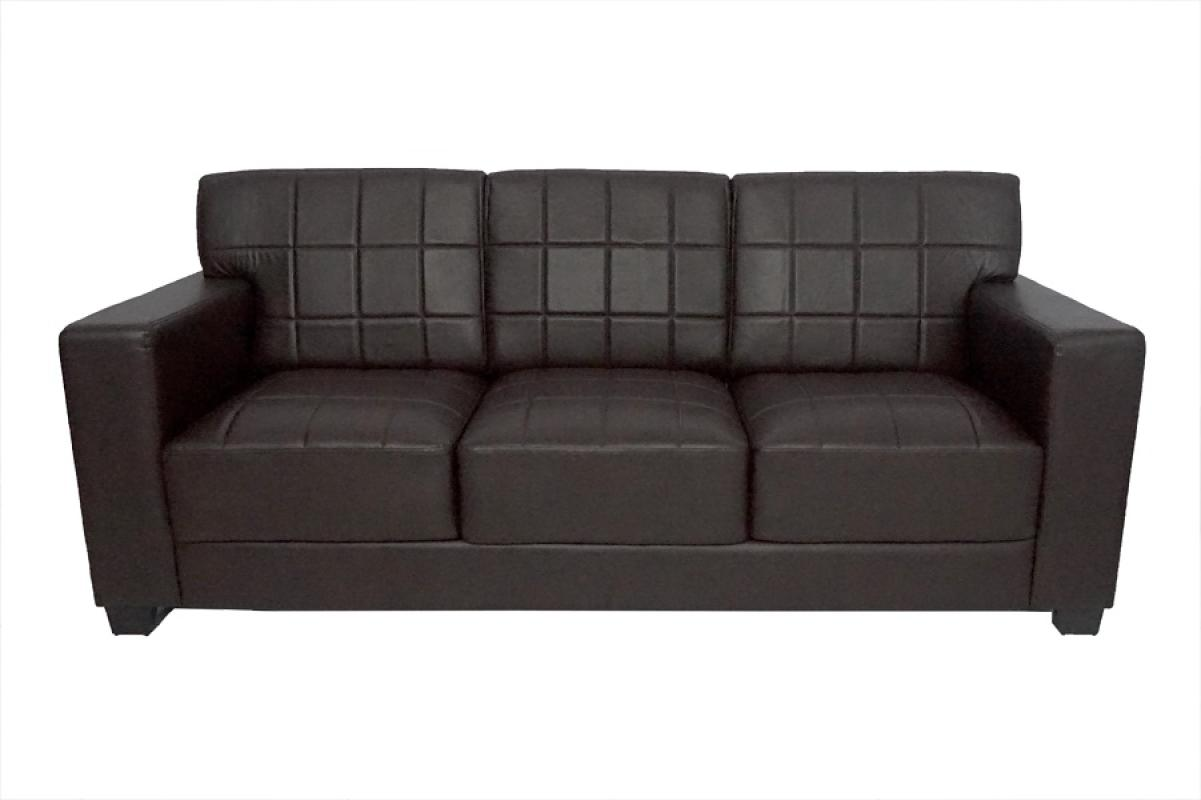 Aim Living Excel 3 Seat Sofa - Coffee