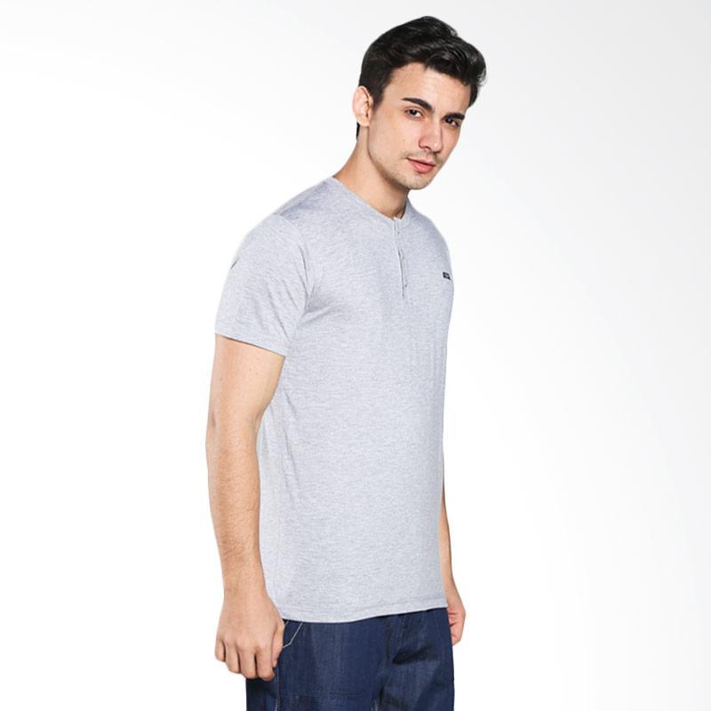 C59 Henley S T-Shirt - Grey Extra diskon 7% setiap hari Extra diskon 5% setiap hari Citibank – lebih hemat 10%