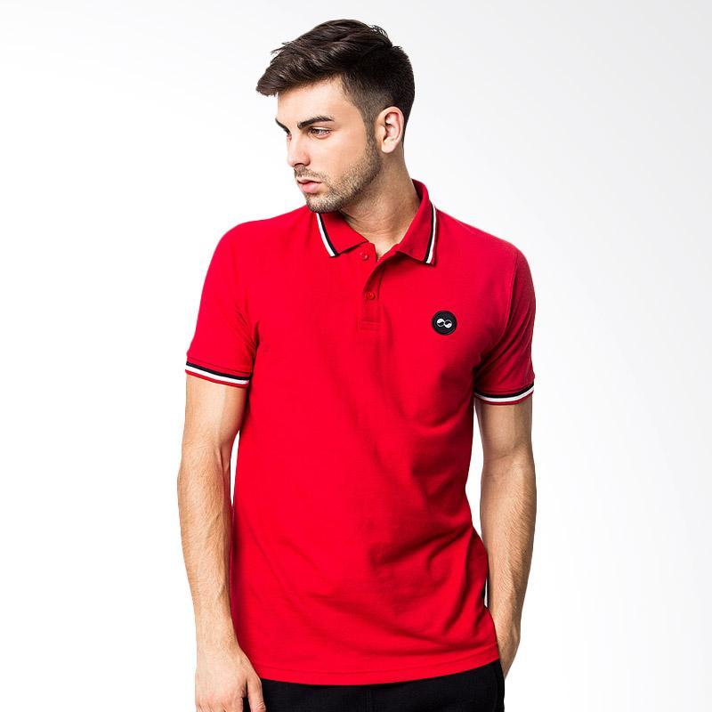 KOMO Polo Shirt - Red Extra diskon 7% setiap hari Extra diskon 5% setiap hari Citibank – lebih hemat 10%