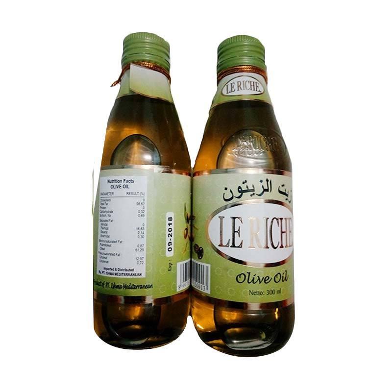 Olive Oil Le Riche Minyak Zaitun [300 mL]