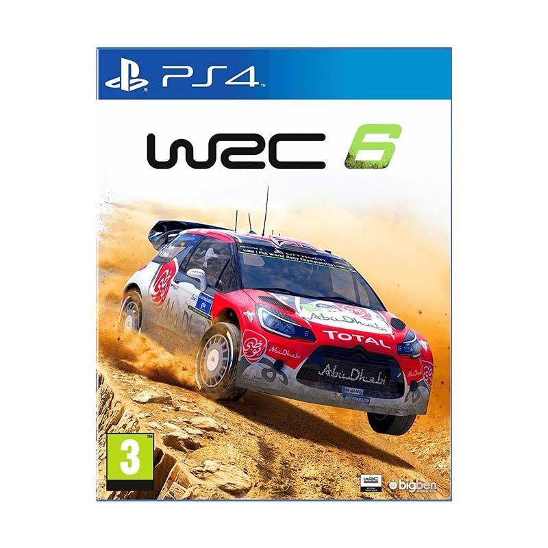 harga SONY PS4 WRC 6 DVD Game Blibli.com