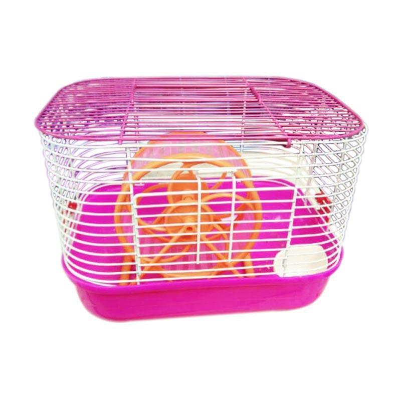 harga WYD K13 Kandang Hamster - Pink Blibli.com