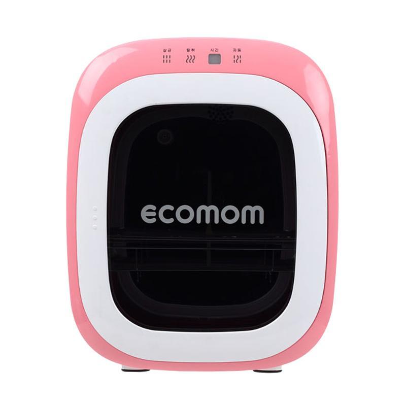 Ecomom 22 Sterilizer Botol Susu with Anion - Pink