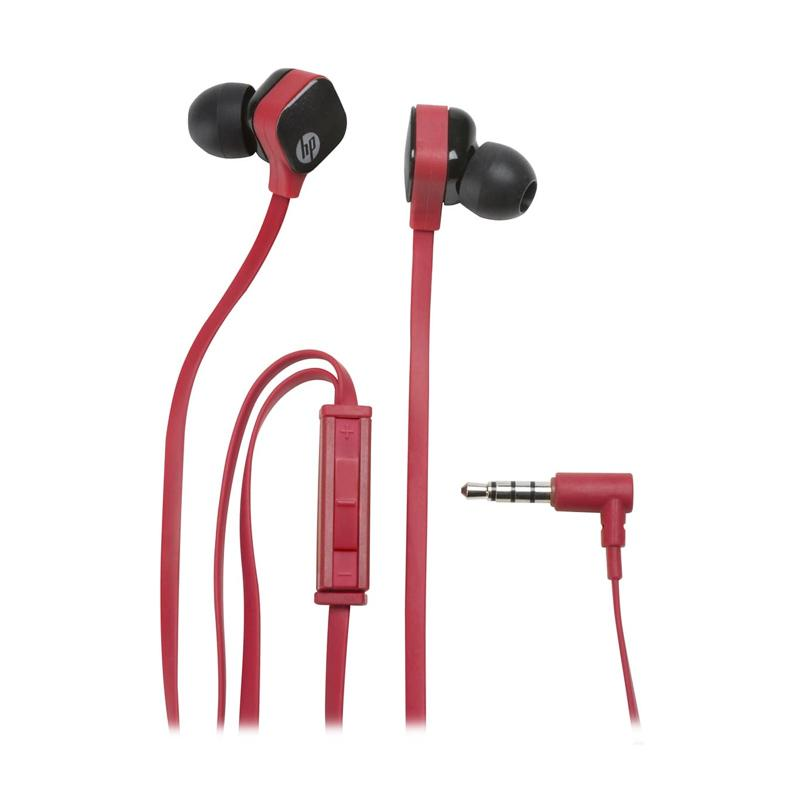 HP H2310 In Ear Headset - Red Black