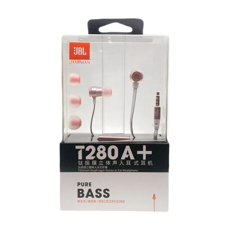 JBL T280A+ Headset - Pink Rose