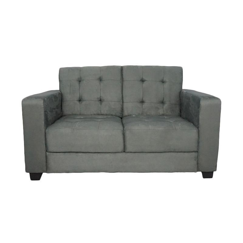 Aim Living Nepal 2 Seat Sofa - Abu-Abu