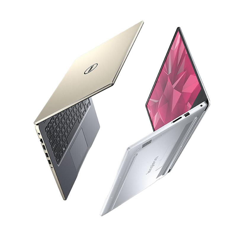 Dell Inspiron 14-7460 Notebook - Gold [Intel core i5-7200/8GB/1TB/VGA/14Inch/Windows 10] Gold