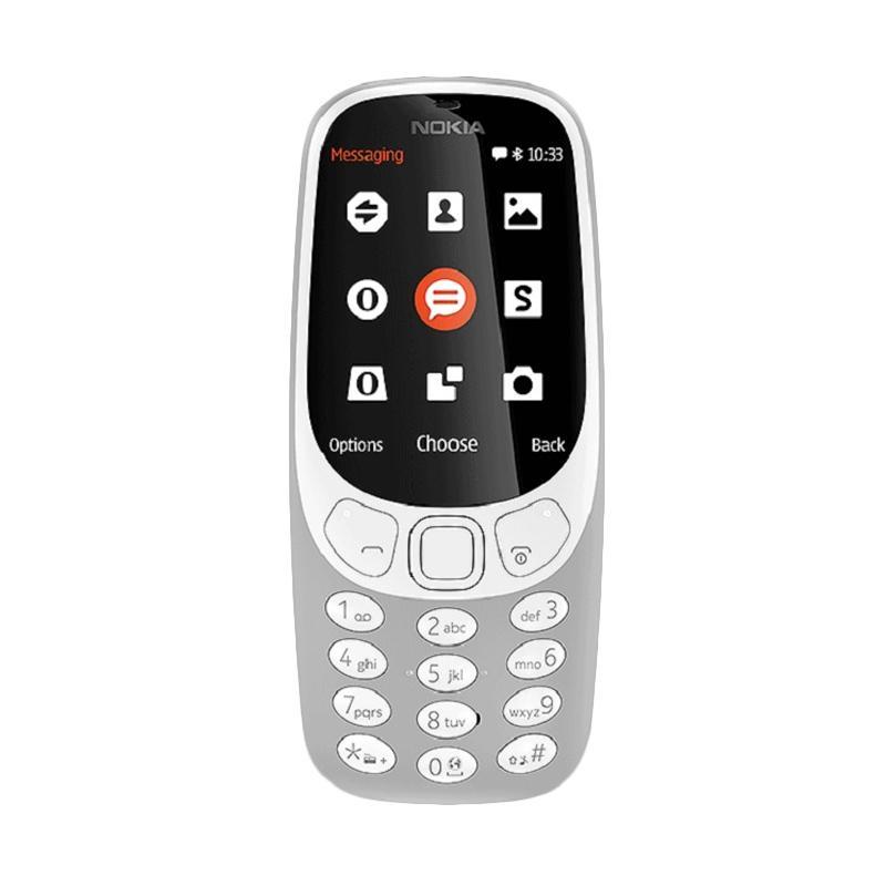 Nokia 3310 2017 Handphone - Gray