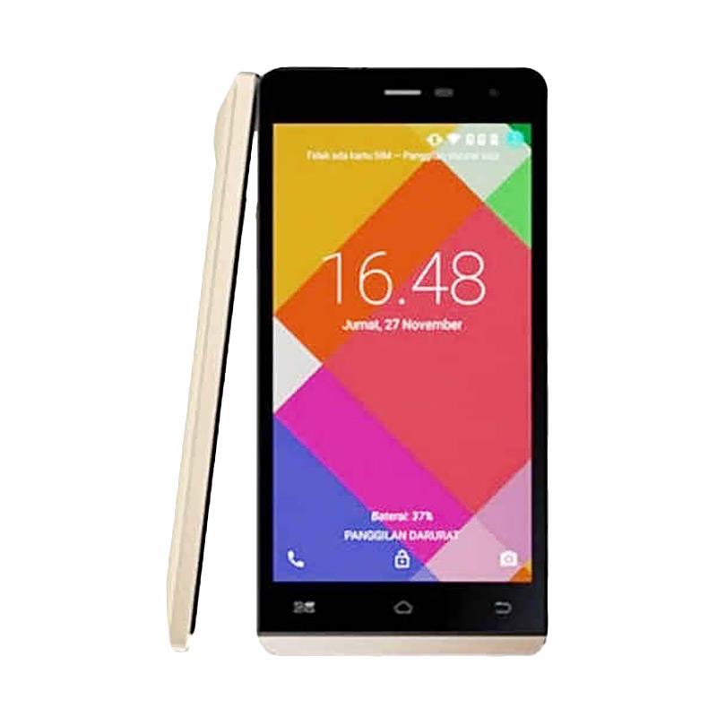 Himax Xplus M21s Smartphone - Emas [32 GB/3 GB]