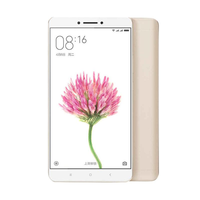 Xiaomi Mi Max Smartphone - Gold [128 GB/4 GB]