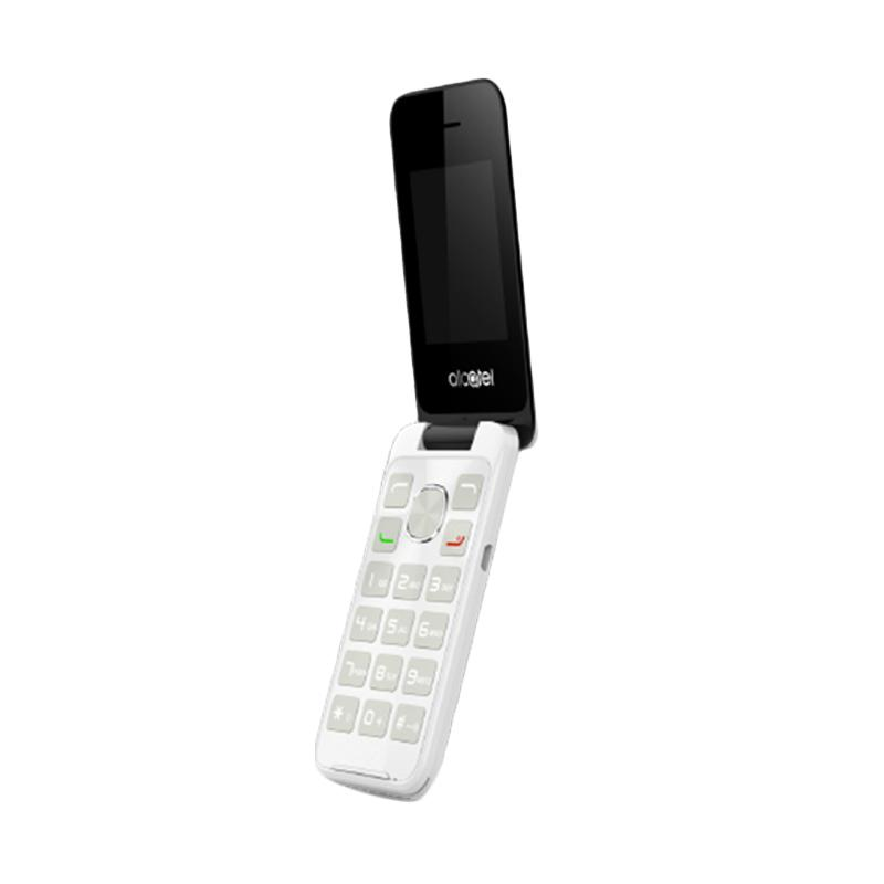 Alcatel 2015D Handphone - Pure White