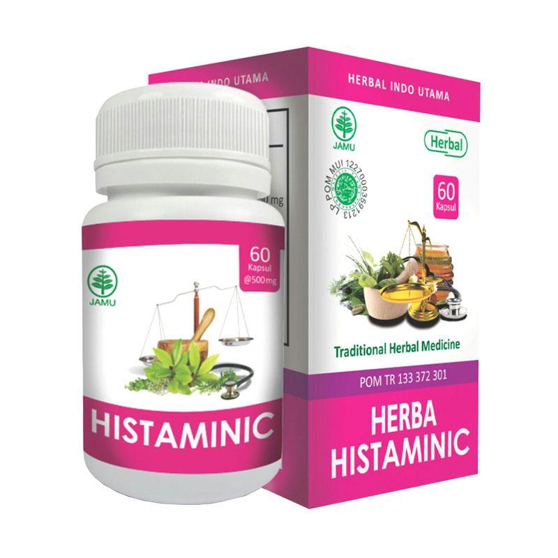 HIU Herba Histaminic Suplemen Herbal Untuk Alergi