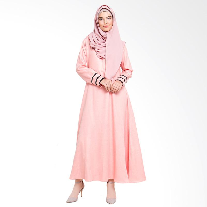 Allev Shafiya Dress Muslim - Salmon