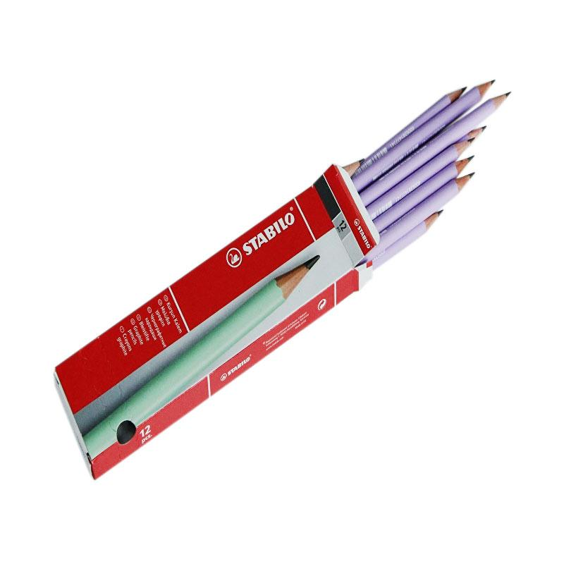 Stabilo Pensil 2B - Lilac