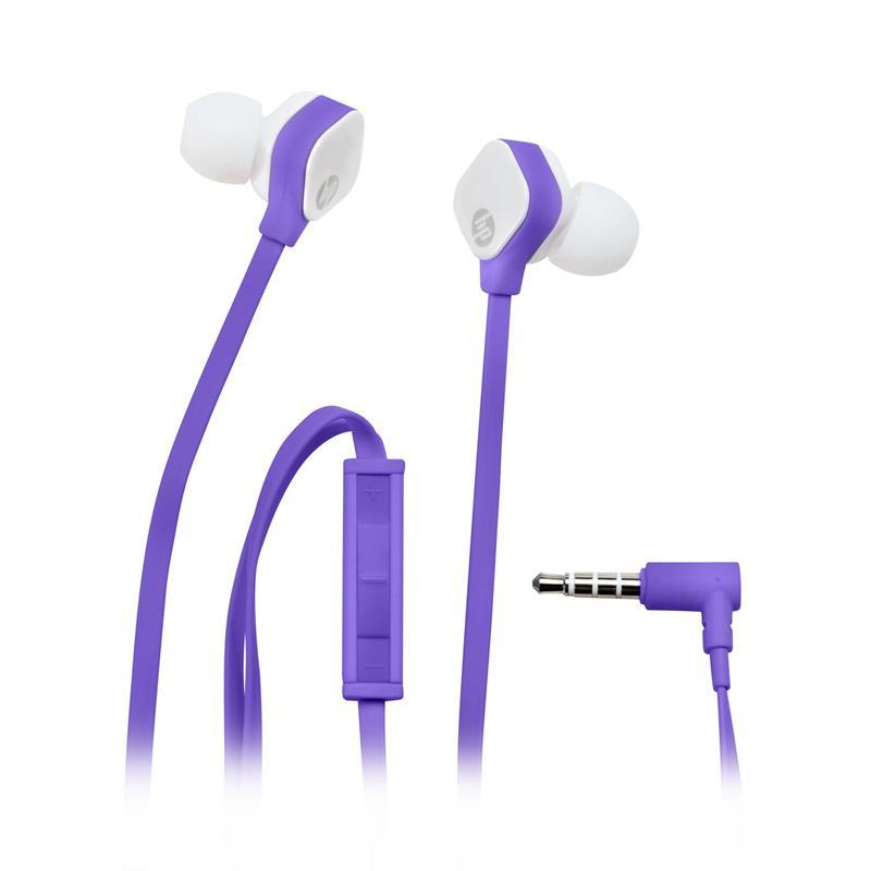 HP H2310 In Ear Headset - Purple