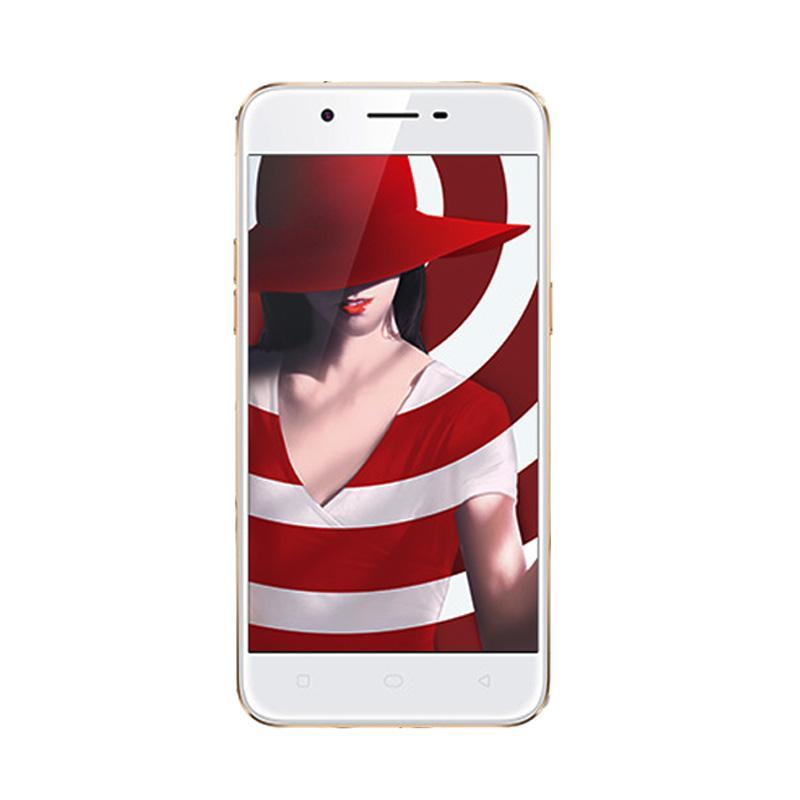 harga Oppo A39 CPH1605 Smartphone - Gold [32GB/ 3GB] Free Speaker Bluetooth Mini Blibli.com