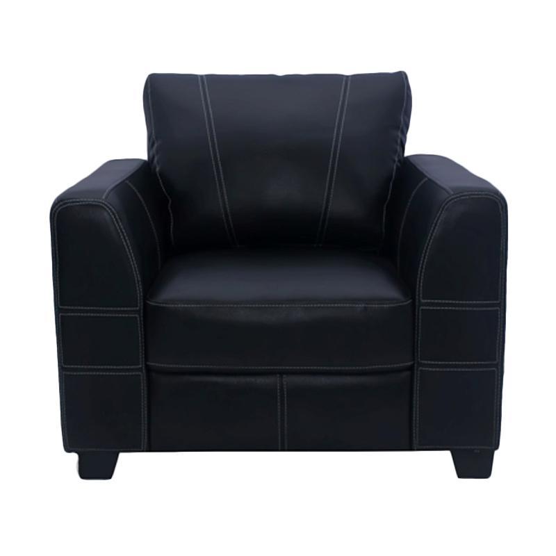Aim Living Javier 1 Seat Sofa - Hitam
