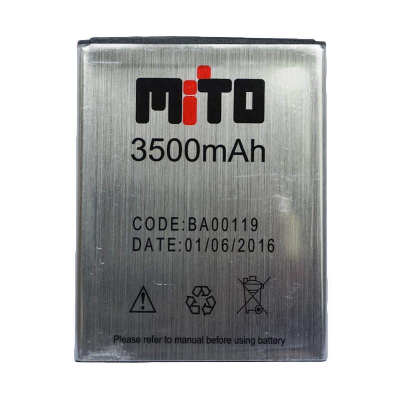 Mito BA00119 Baterai - Silver