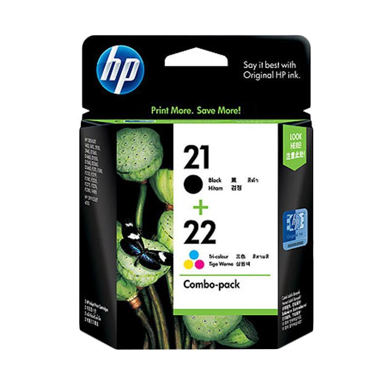 HP 21 + 22 Combo Pack Ink Cartridge