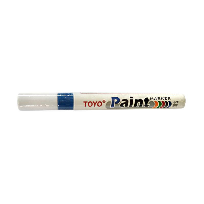 Toyo Spidol Ban / Paint Tire Marker - Biru