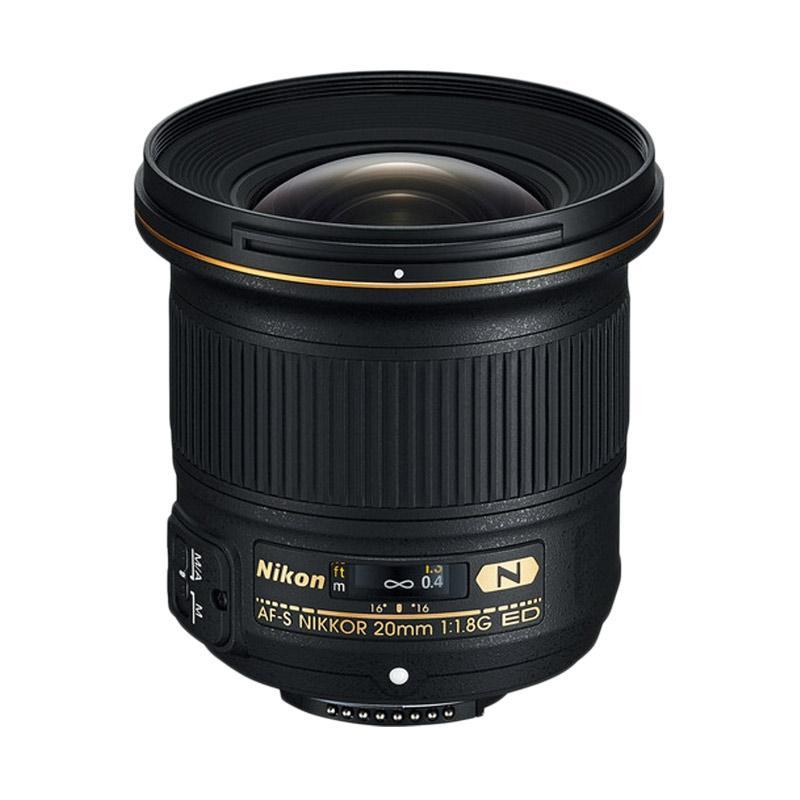 Nikon AF-S 20mm F/1.8 G ED Lensa Kamera