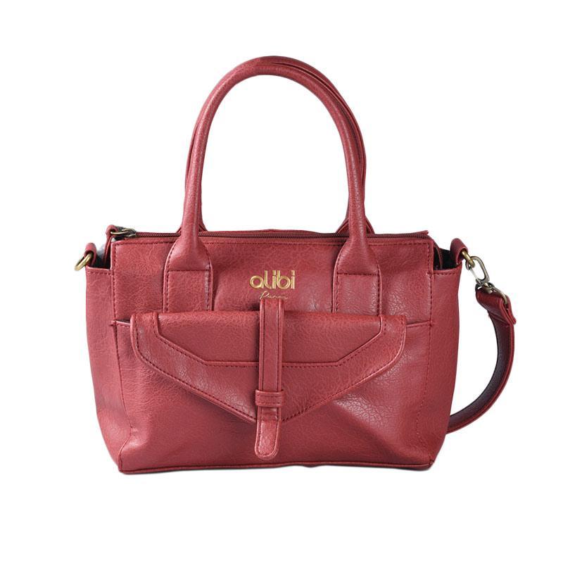 Alibi T1334B1 Luna Bag Hand Bag - Red