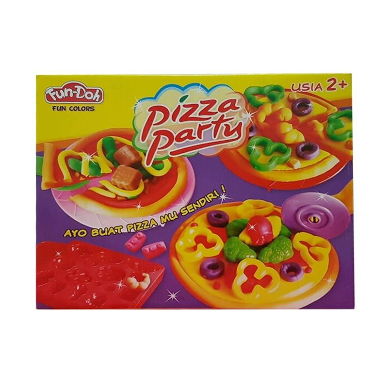 Fun Doh Pizza Party Mainan Anak