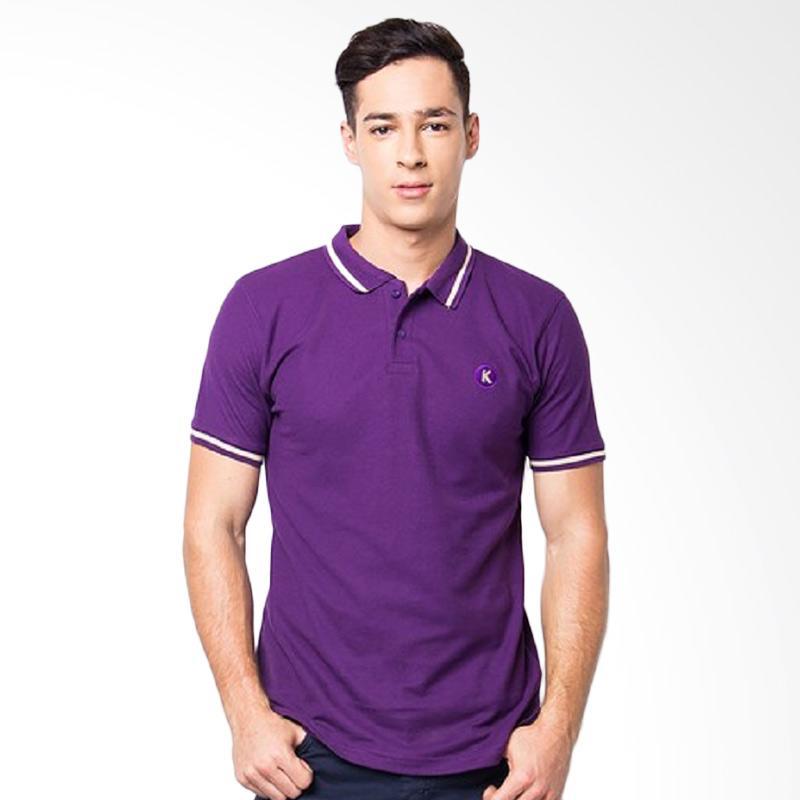 KOMO Pulp Polo Shirt - Purple Extra diskon 7% setiap hari Extra diskon 5% setiap hari Citibank – lebih hemat 10%