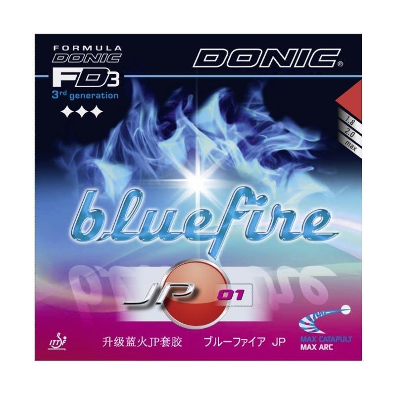 harga DONIC Bluefire JP01 Rubber Bat Pingpong - Red [Max] Blibli.com