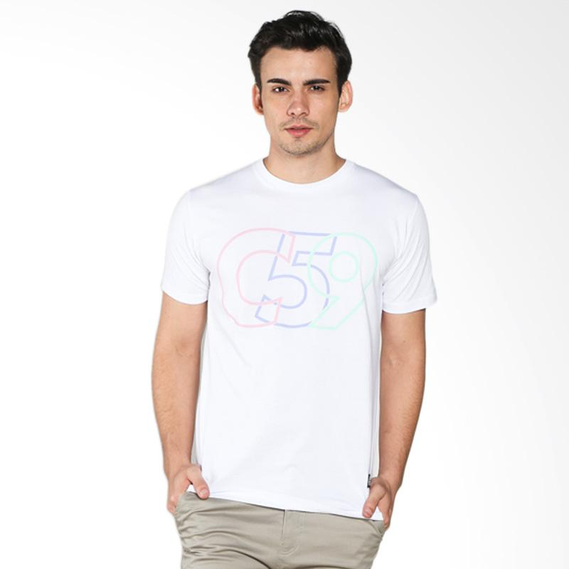 C59 T-Shirt Pria - White Light Extra diskon 7% setiap hari Extra diskon 5% setiap hari