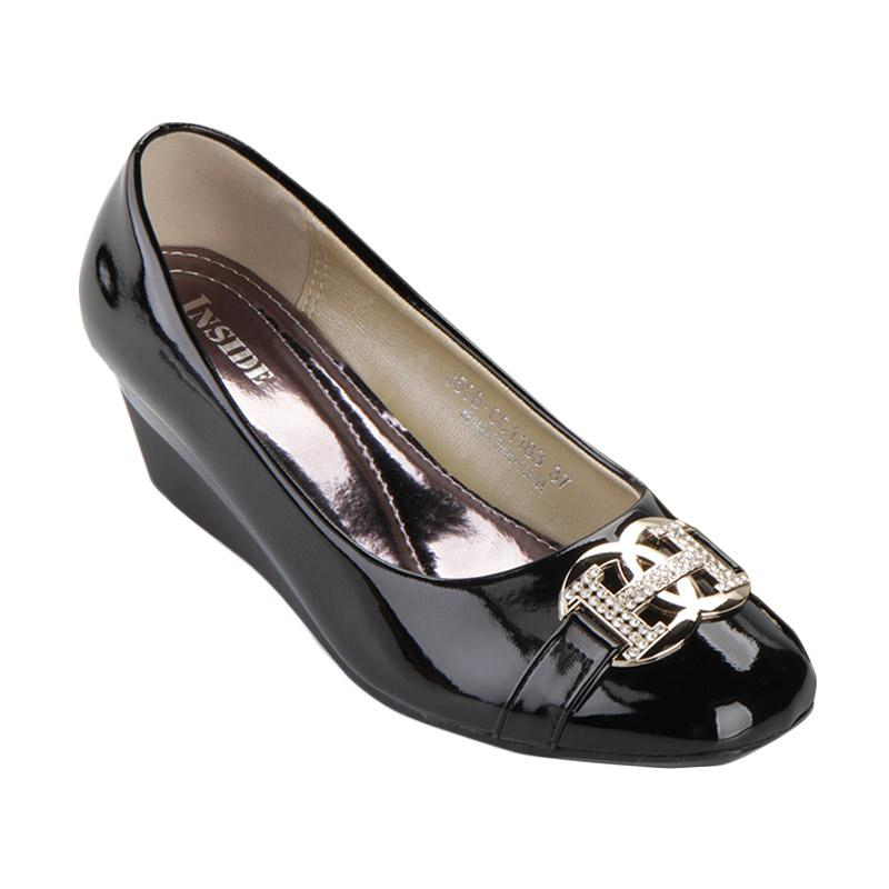 harga Inside Wedges Hilda - Black Blibli.com