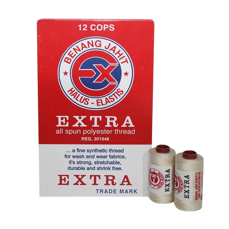 Extra Benang Jahit - Cream