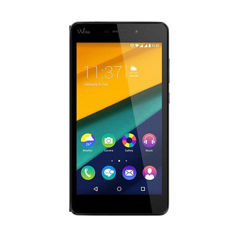 Wiko S5260 Pulp Fab Smartphone - Hitam [16 GB/2 GB]