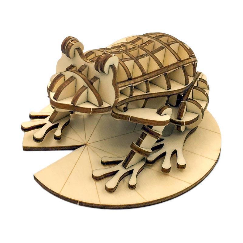 Kigumi Frog 3D Puzzle