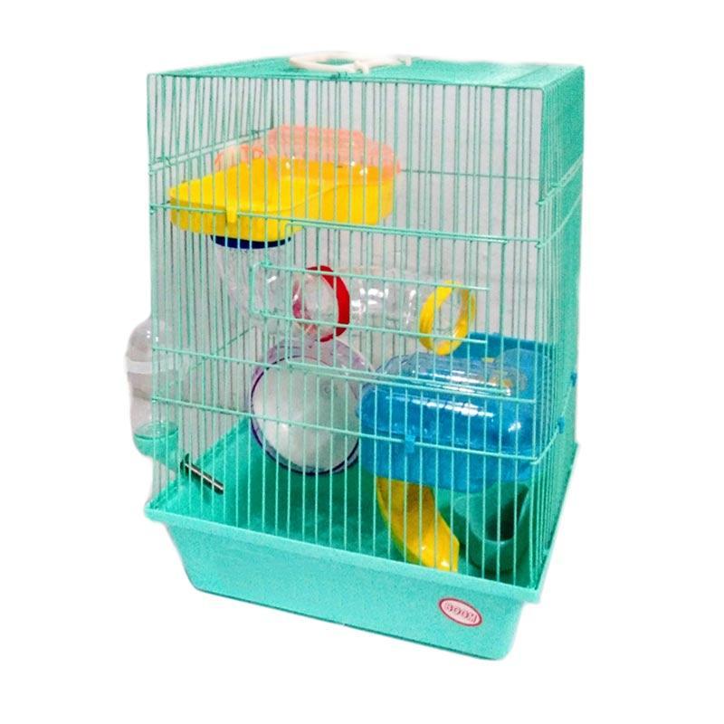 7 Hours Super Deal - WYD Kandang Hamster - Hijau Muda