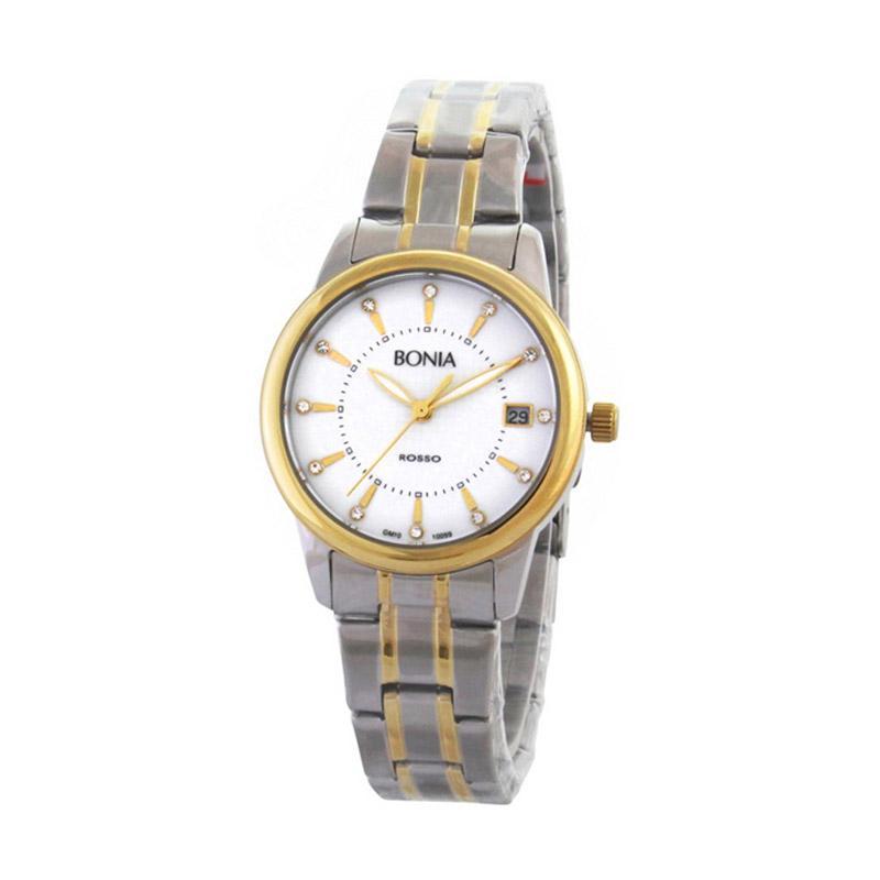 Bonia Rosso BNB10099-2117 Jam Tangan Wanita - Silver