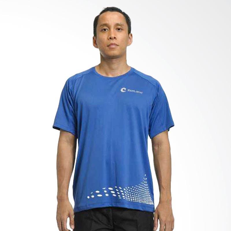 ZcoLand Halftone Kaos Olahraga