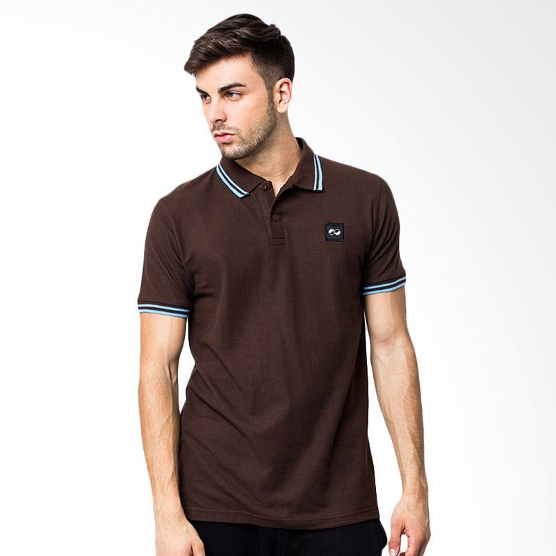 KOMO Gyffrous Polo Shirt - Brown Extra diskon 7% setiap hari Extra diskon 5% setiap hari Citibank – lebih hemat 10%