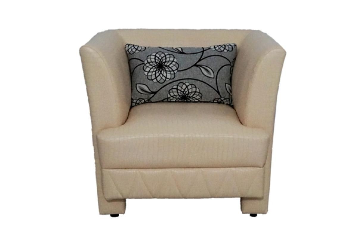 Aim Living Thirza 1 Seat Sofa - Putih