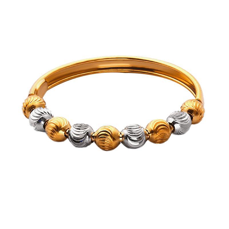 Gold Bangle - Gelang Emas Kadar 75