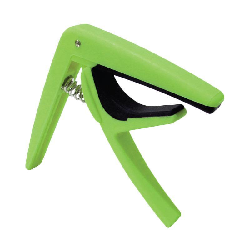 Glow GC-50 Capo Gitar - Green
