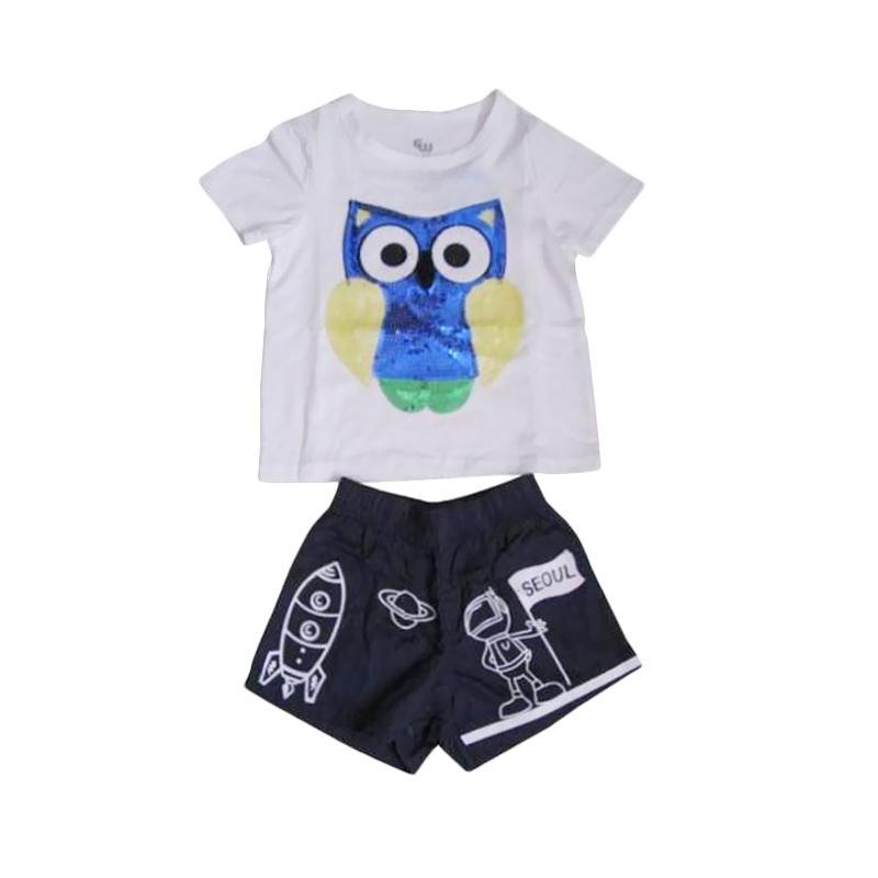 GW Owl Setelan Anak Laki Laki