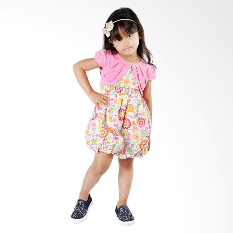 4 You Flower Dress - Pink