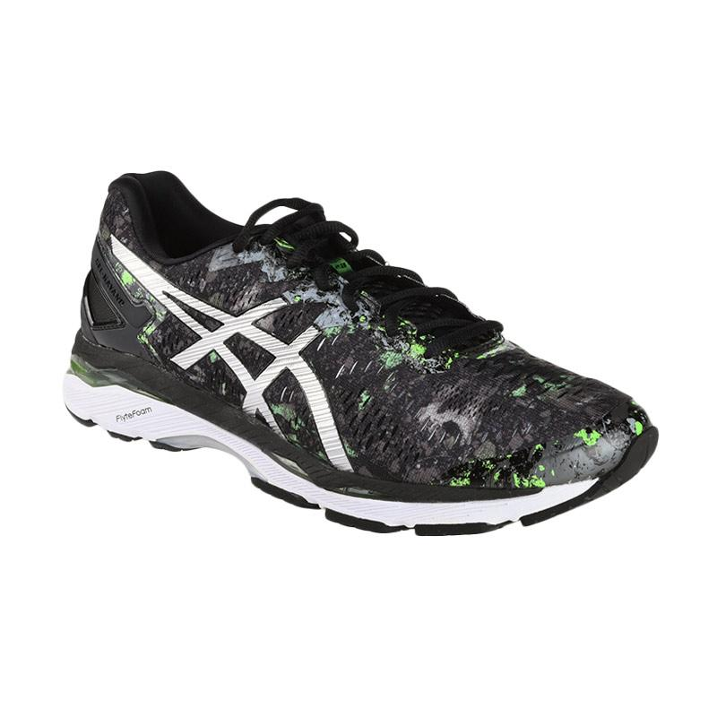 Asics Gel-Kayano 23 Sepatu Lari - Hitam ASIT6A0N9093 1a164e8adb