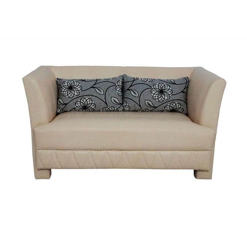 Aim Living Thirza 2 Seat Sofa - Putih