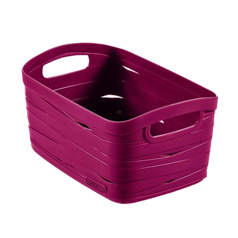 HAUZ Curver Ribbon Keranjang - Purple [S]
