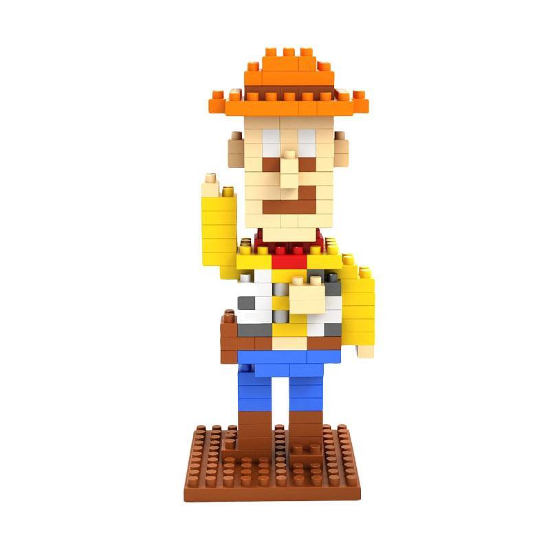 Loz Diamond Block 9128 Woody Mainan Mini Blocks - Multicolor
