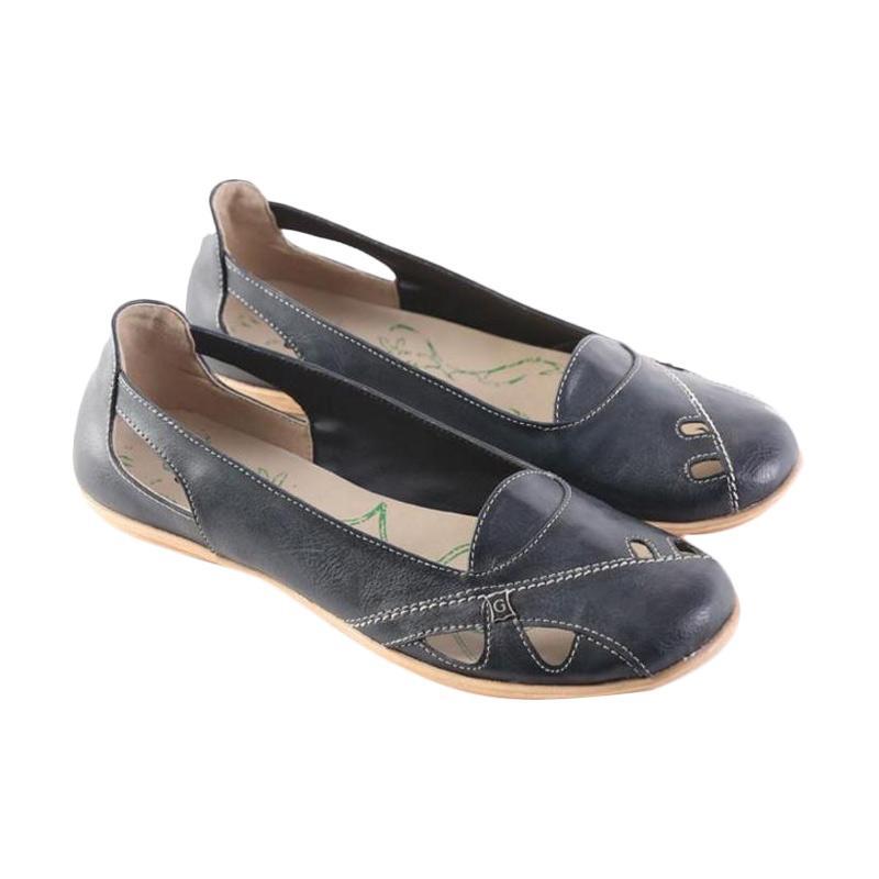 harga Garsel Flat Shoes 14 Sepatu Wanita - Hitam Blibli.com