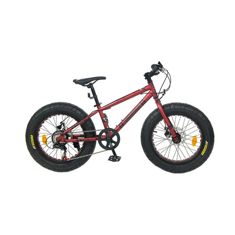 harga WIMCYCLE Fatman Kids Sepeda Gunung - Merah [20 Inch] Blibli.com